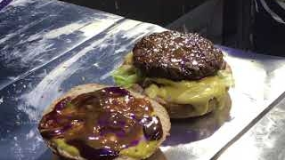 Fresh Cantaloupe Burger